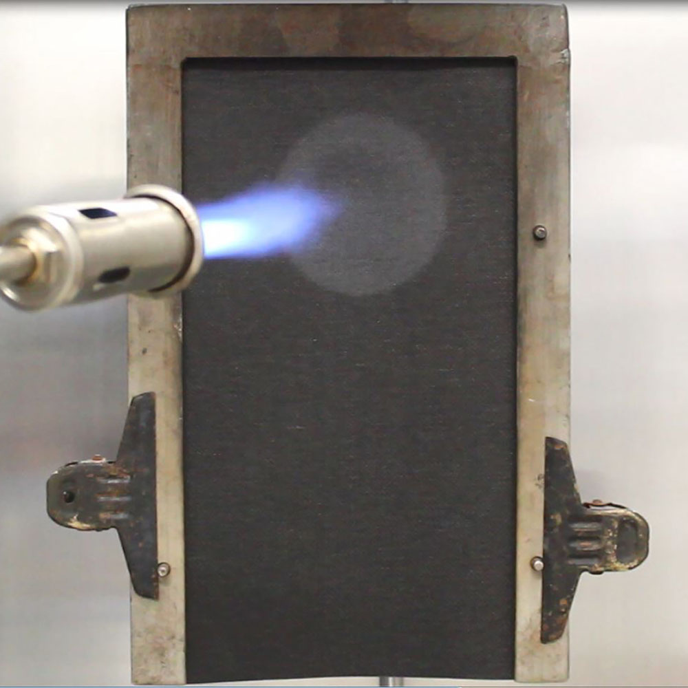 EN ISO 13501-1 Small Flame test