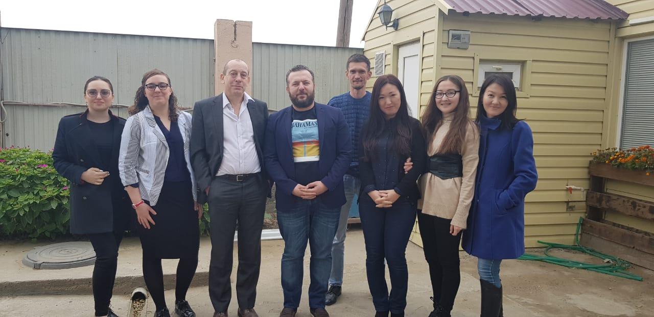 ITP Export Team with Kazakstan Distributors