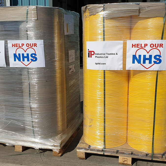 Chemical Barrier fabric for NHS PPE