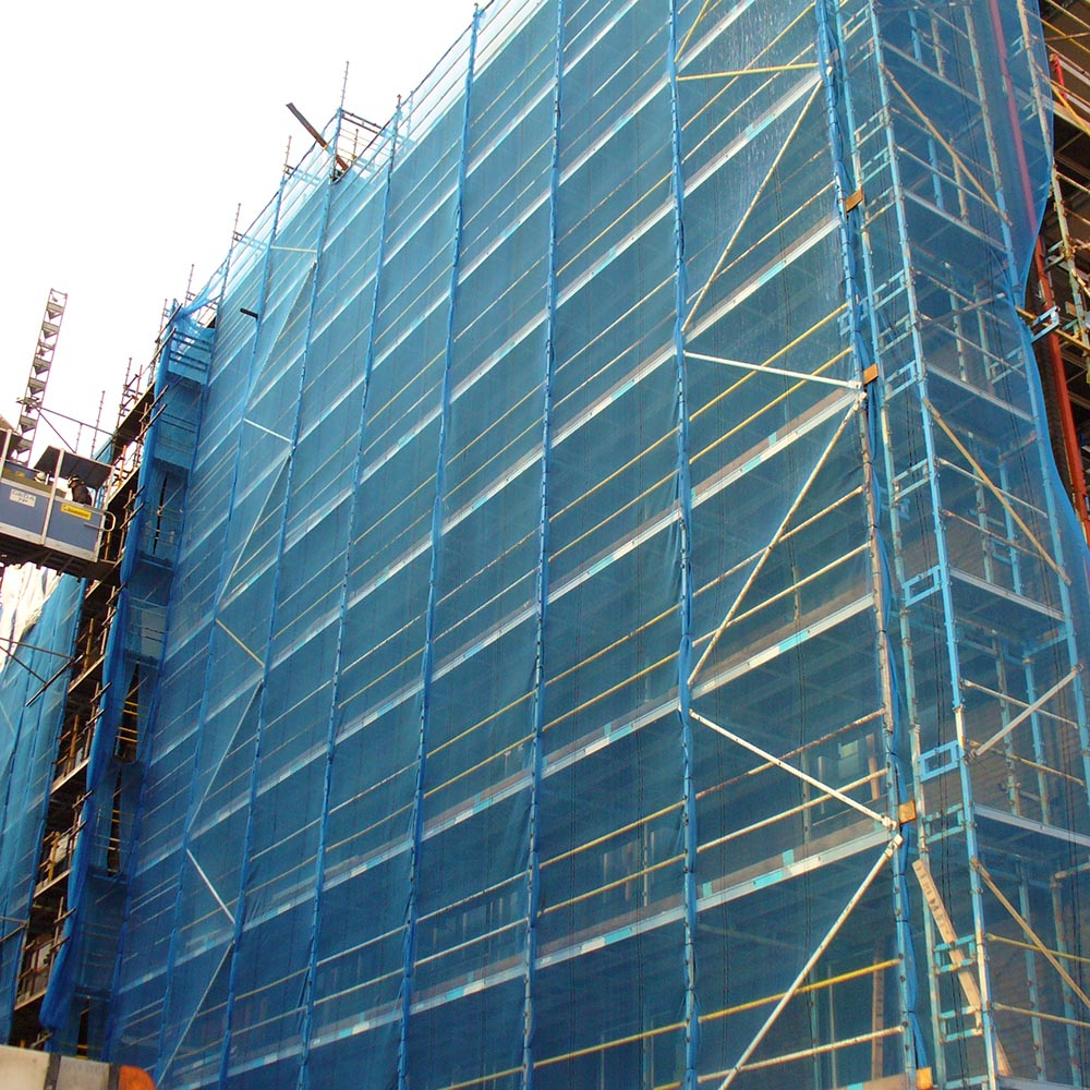 Powerclad Debris Netting Blue