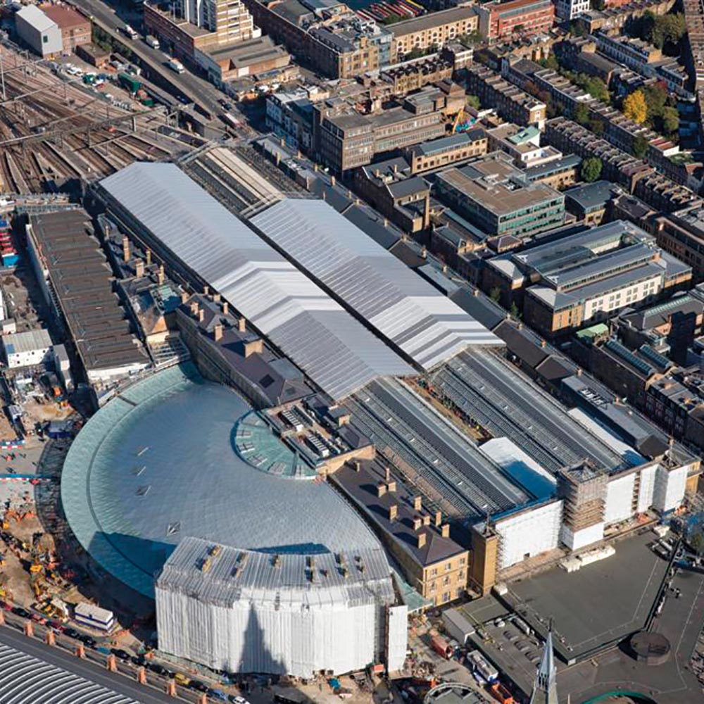Powerclad Keder 1100 Kings Cross Station Aerial
