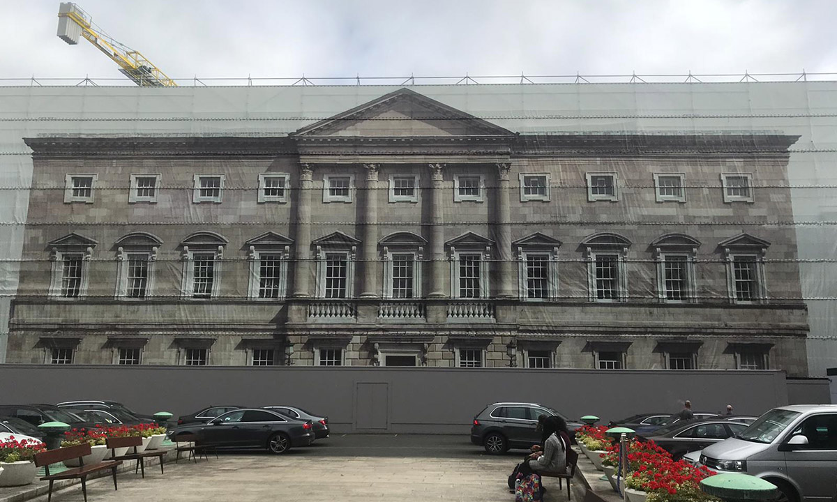 Powerclad Premiium FR Digitally Printed Leinster House Dublin