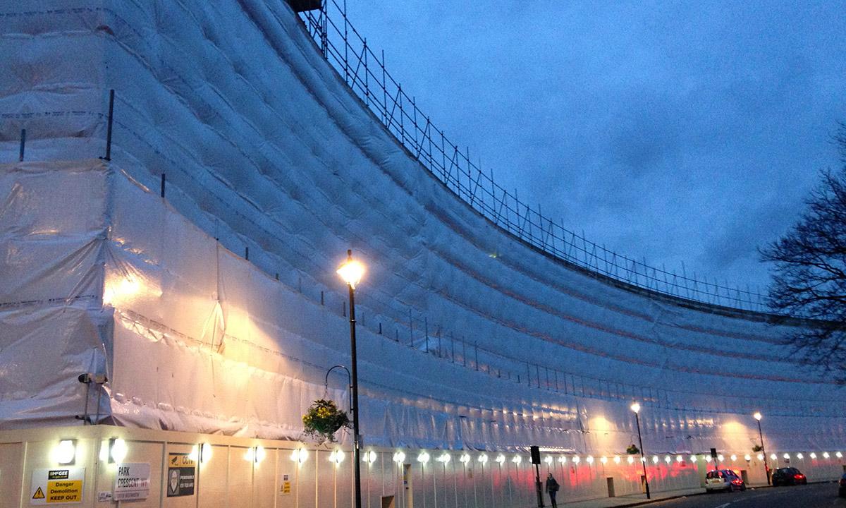 Powerclad Standard FR Installation London