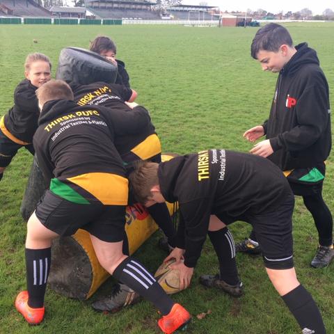 Thirsk Rugby Club U12s
