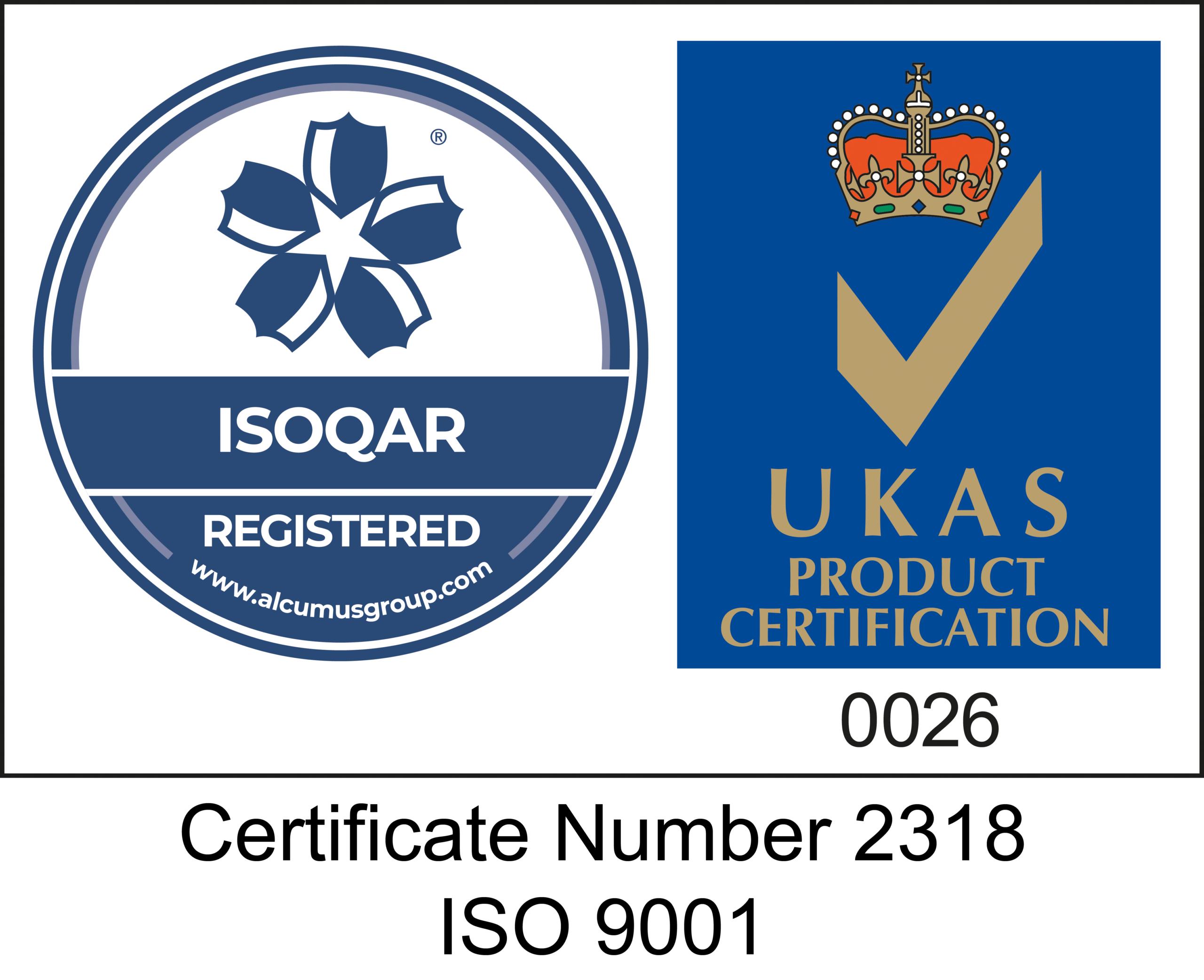 QA Cert ISO 9001-2015